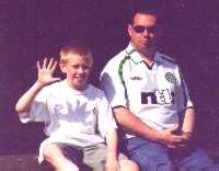Graham with dad Jun 2002